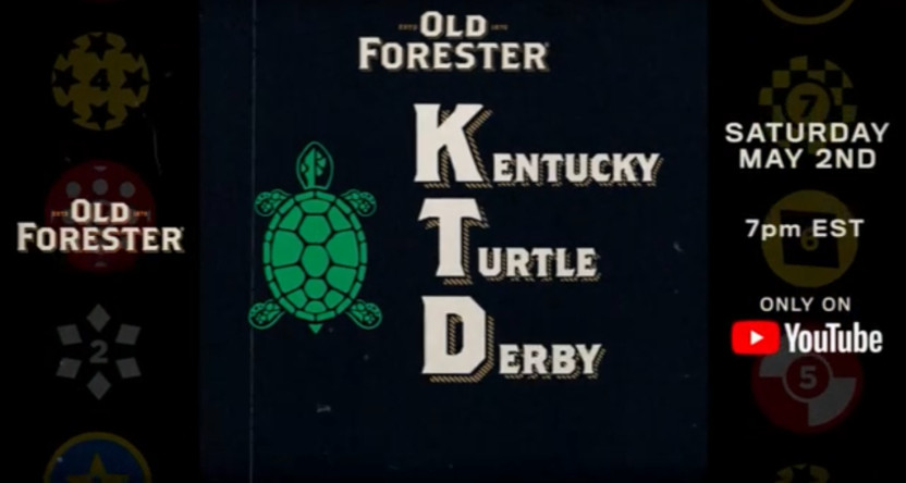 Old Forester's graphic for a Kentucky Turtle Derby.