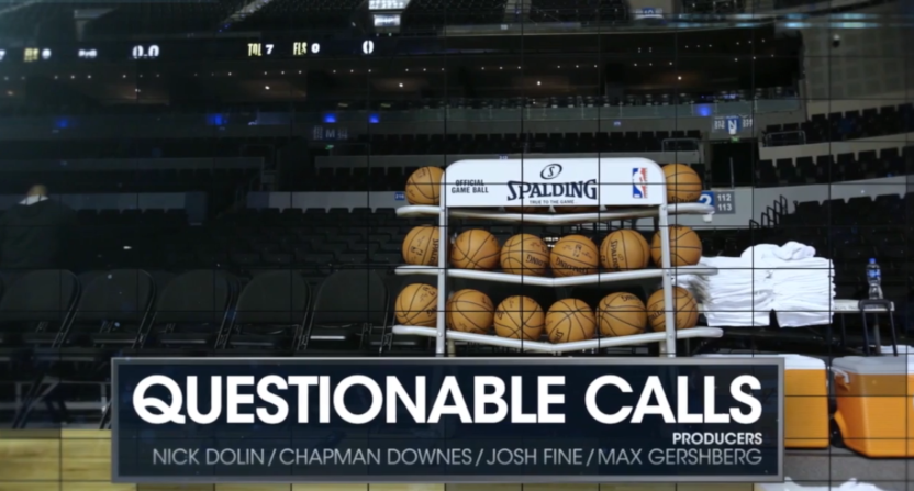 Real Sports' Questionable Calls segment.