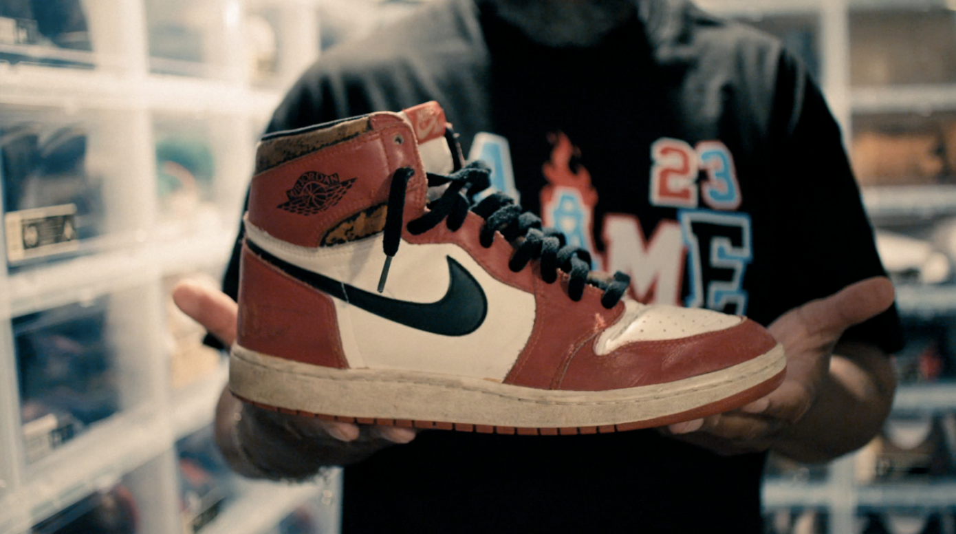VICE's 'One Man and His Shoes' documentary explores Nike's Air Jordan sneakers becoming cultural sensation