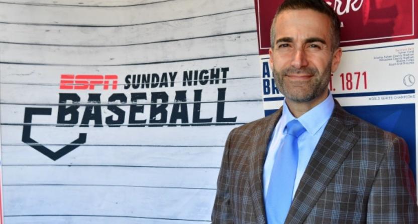 Matt Vasgersian on Sunday Night Baseball