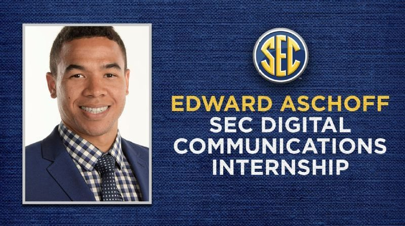 Edward Aschoff will be honored with a new SEC internship.