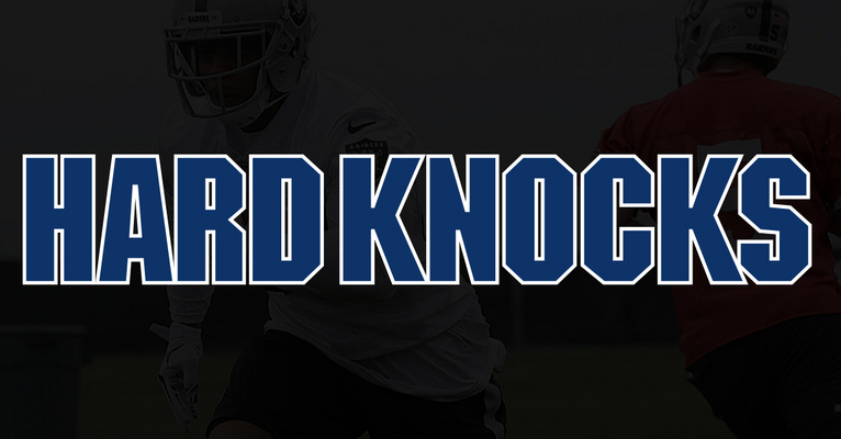 The Hard Knocks logo.