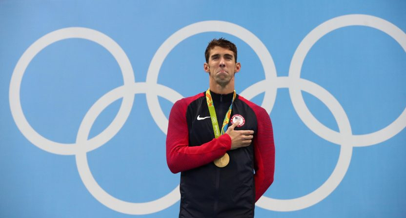 Michael Phelps' 2016 gold in the 200m IM.