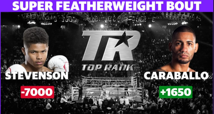 The Top Rank card for June 9.