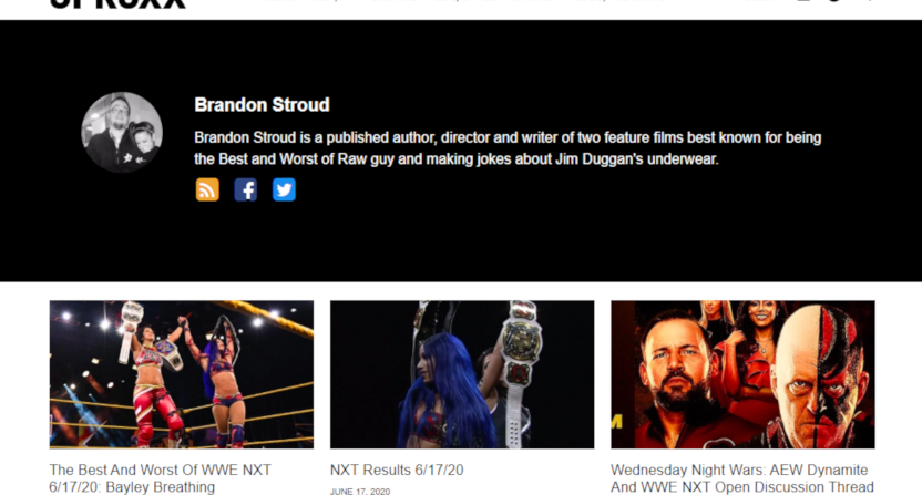 The Uproxx wrestling vertical.