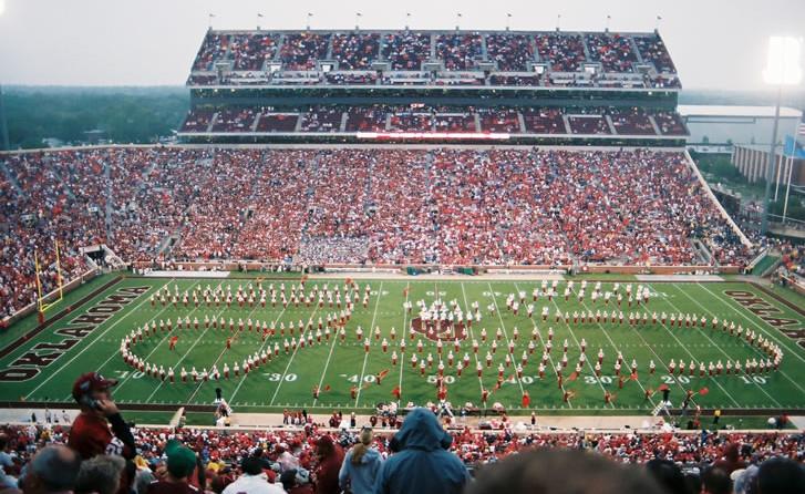 The Oklahoma Sooners' stadium in 2006.