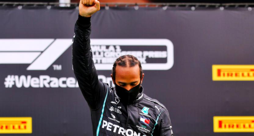 Lewis Hamilton BLM