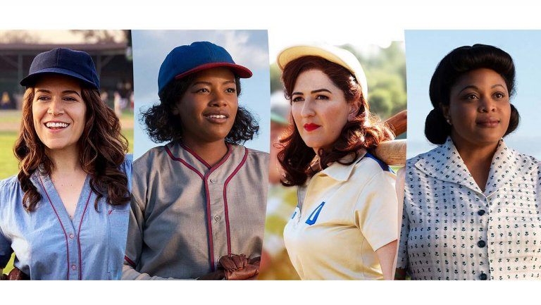 """Some of the new """"A League of Their Own"""" series cast."""