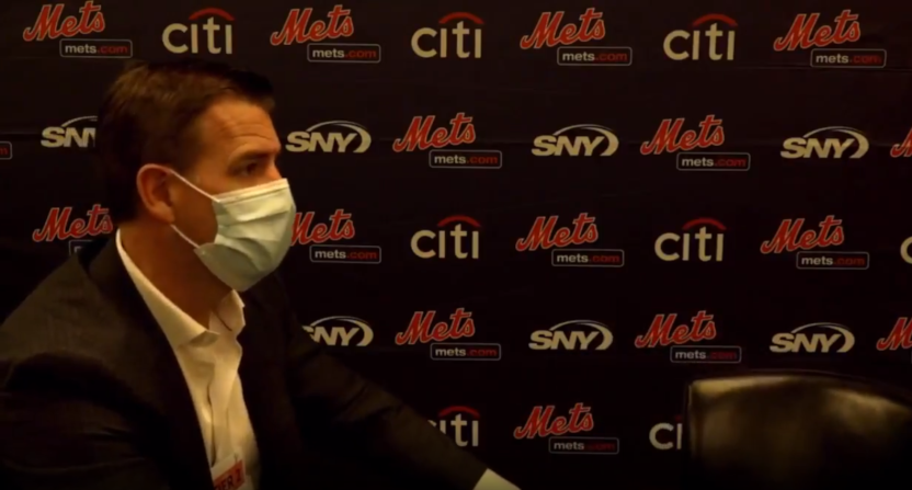 Mets' GM Brodie Van Wagenen on Rob Manfred.