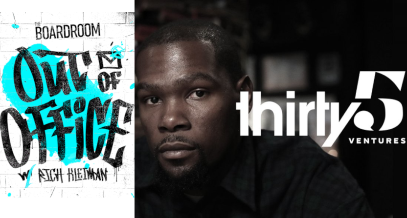 Kevin Durant and Rich Kleiman are building a podcast network at Cadence13.