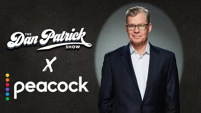 The Dan Patrick Show on Peacock.