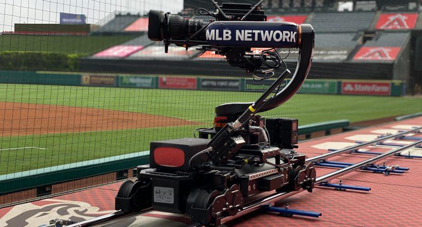 MLB Network's Speed Cam.