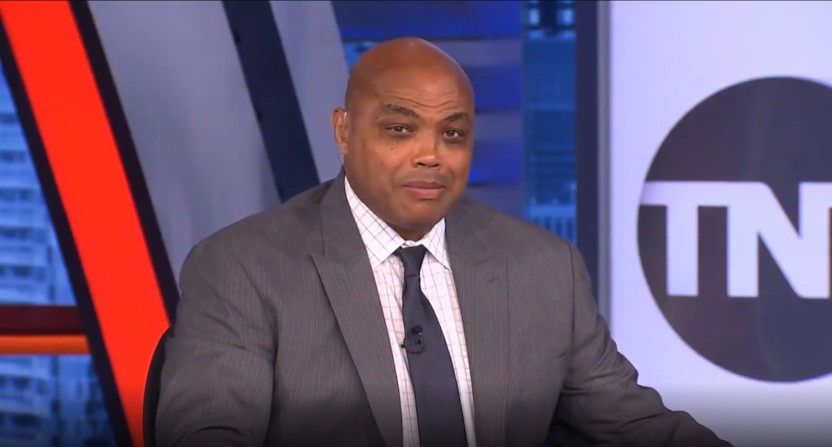 Charles Barkley on the Falcons.