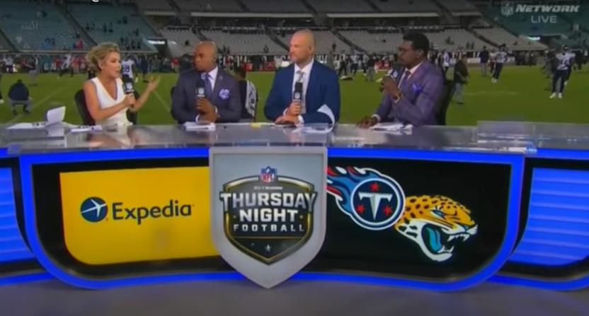 NFL GameDay Kickoff in September 2019.