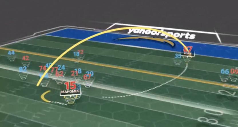 A screenshot of a Yahoo PlayAR demo.