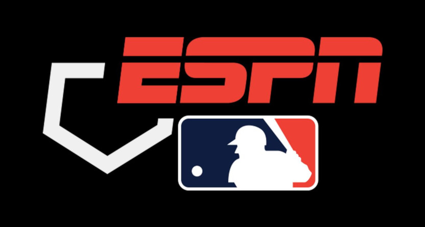 The MLB on ESPN logo.