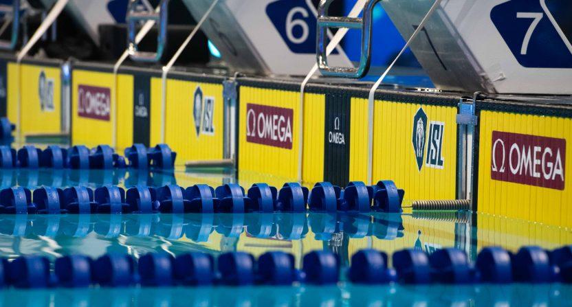 The International Swimming League.