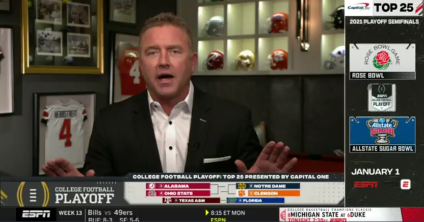 "Kirk Herbstreit on what coaches have told him about other programs ""opting out."""