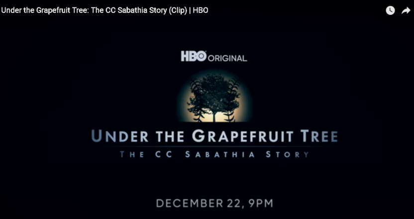 """The story of CC Sabathia is shown in """"Under The Grapefruit Tree,"""" premiering Dec. 22 on HBO."""