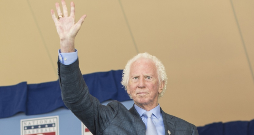 Don Sutton at Baseball Hall of Fame ceremonies in July 2018.