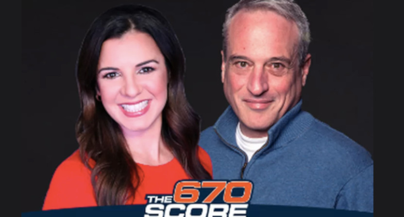 Leila Rahimi and Dan Bernstein on 670 The Score.