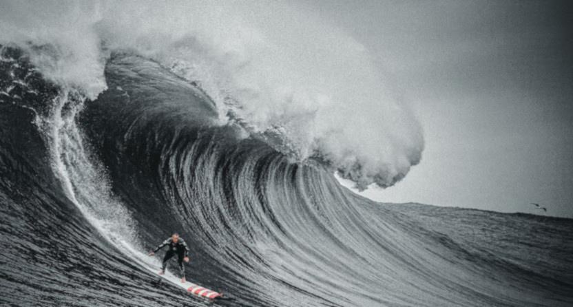 """HBO's upcoming """"100 Foot Wave"""" docuseries."""