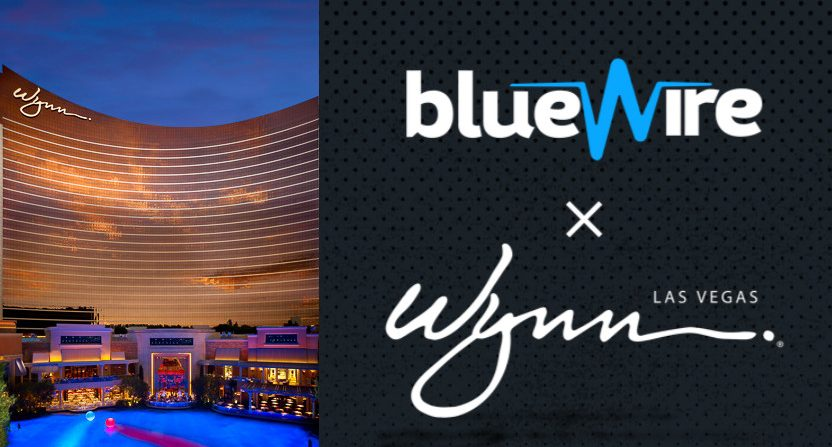 Blue Wire has a new partnership with Wynn Resorts.