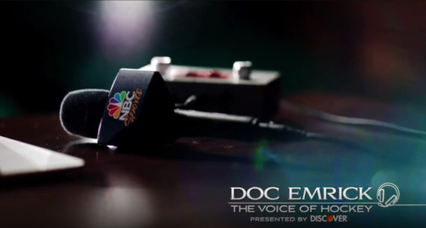 NBC has a special on Doc Emrick airing on Feb. 21.