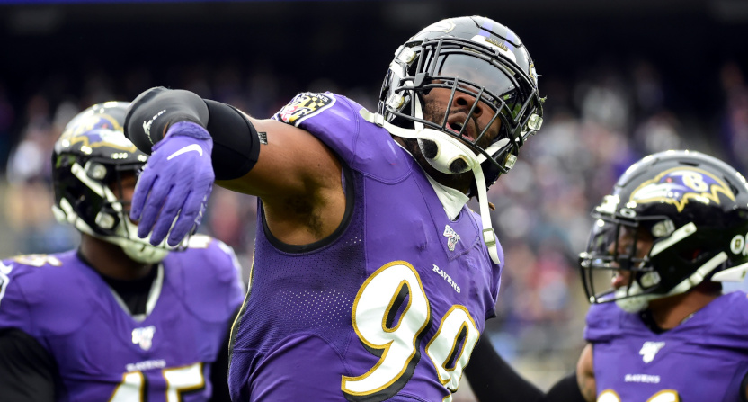 Matthew Judon in a Nov. 2019 game.