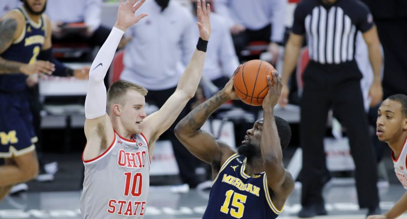 Michigan Ohio State basketball.