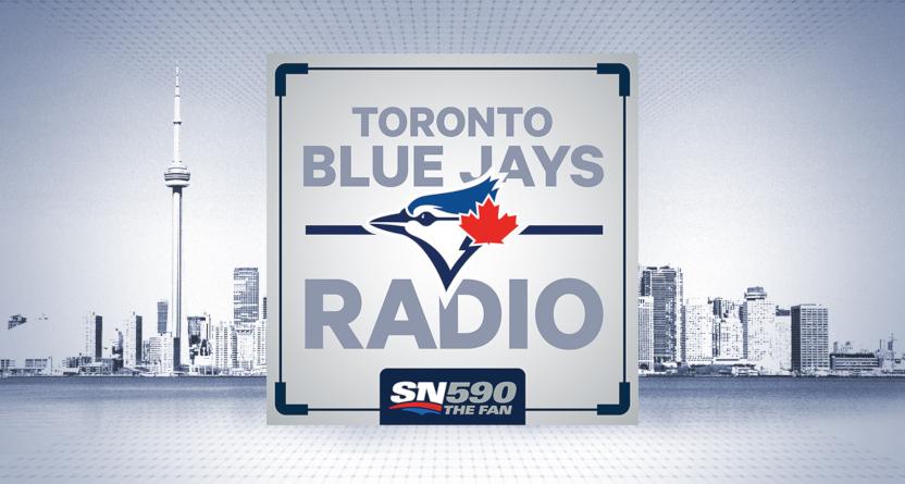 Sportsnet The Fan 590's Blue Jays radio logo.