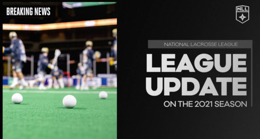 The National Lacrosse League is shifting its focus to the fall of 2021.