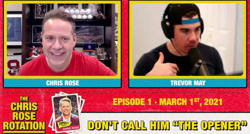 Chris Rose is hosting a new podcast for Jomboy Media.