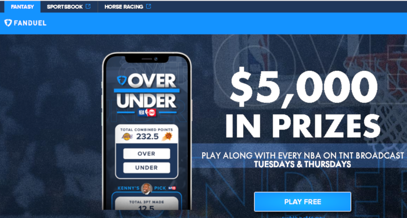 FanDuel's new game with Kenny Smith.
