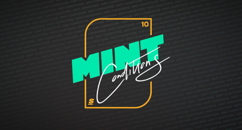 "theScore's ""Mint Conditions"" series logo."