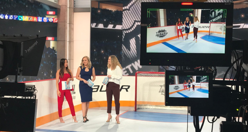 The 2020 all-female edition of NHL Now.