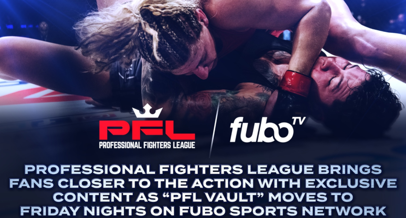 PFL Vault is moving to Friday nights on fubo Sports Network.