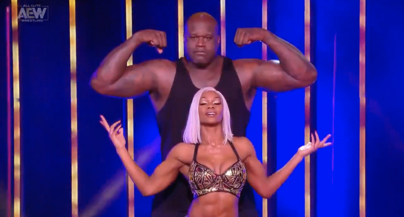 Shaquille O'Neal Match Drew 1,113,000 Viewers on Dynamite