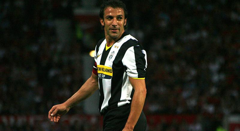 Alessandro Del Piero with Juventus.