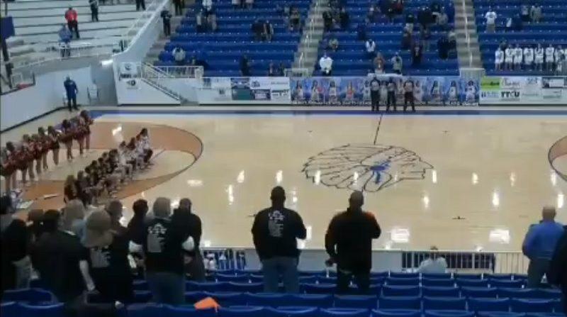 Matt Rowan dropped a racial slur during this Norman High School girls' basketball game.
