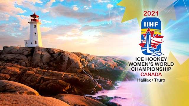 The 2021 IIHF Women's World Championship logo.