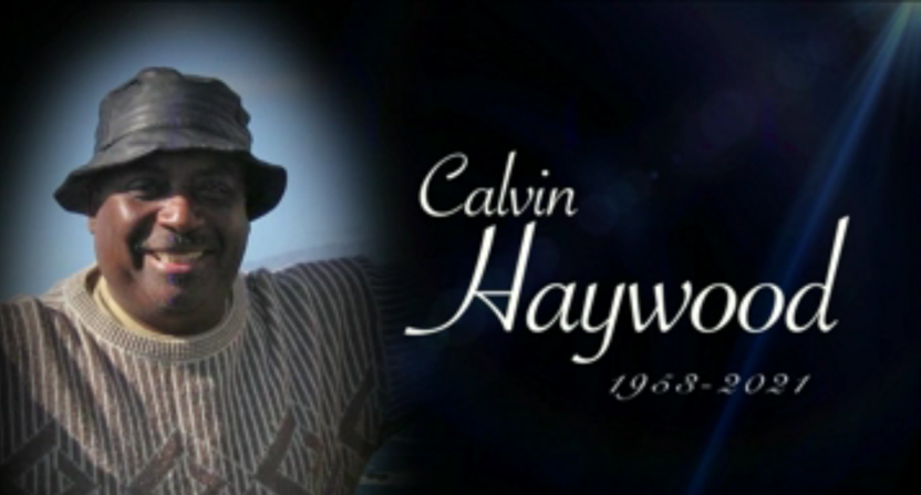 Calvin Haywood, as seen in YES' tribute to him.