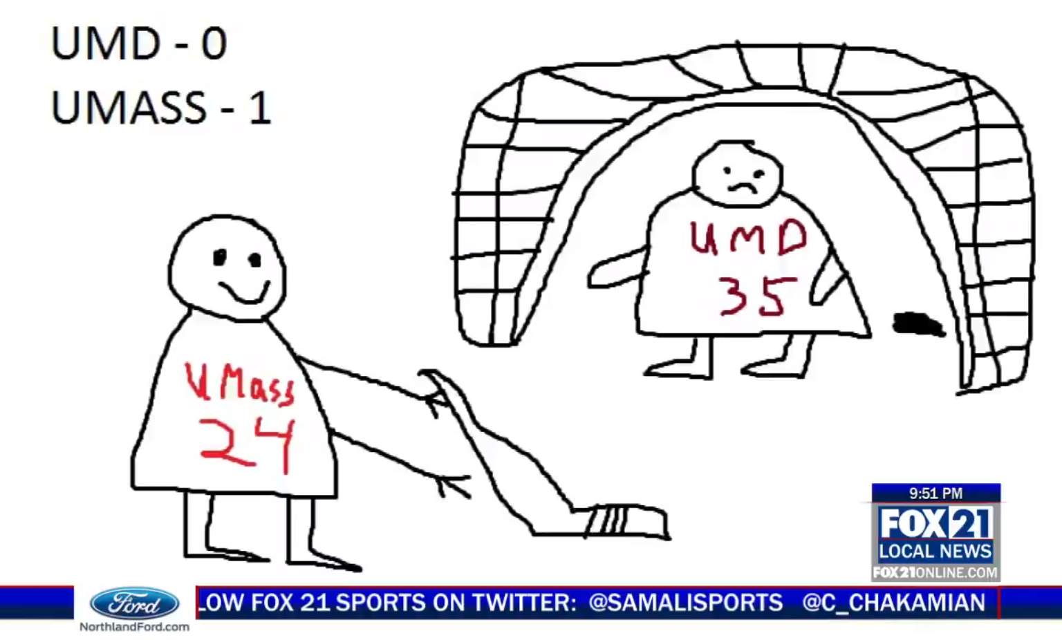 Minnesota sports anchor uses artistic license to get around Frozen Four highlight rules