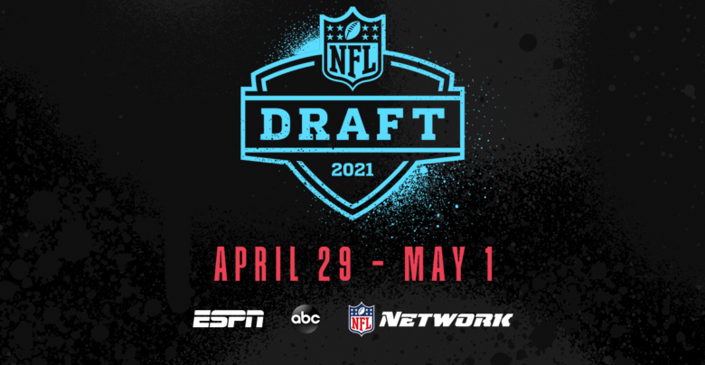 A 2021 NFL draft graphic.