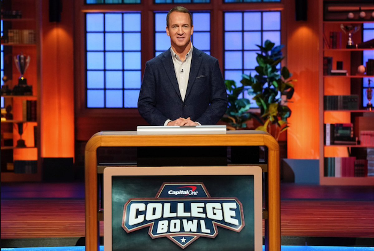 Peyton Manning will host 'College Bowl' revival on NBC this June