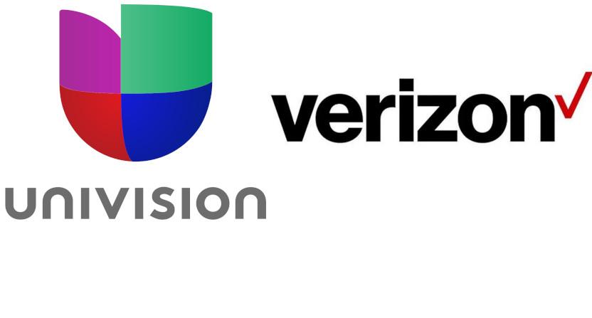 Univision and Verizon.