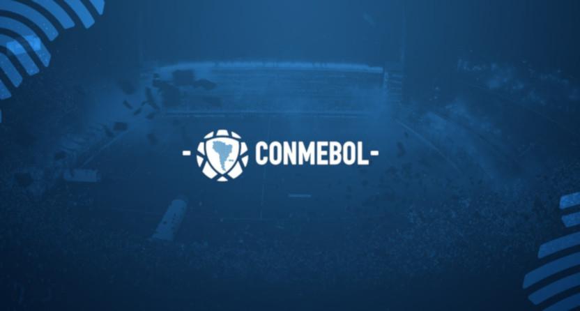 The CONMEBOL logo.
