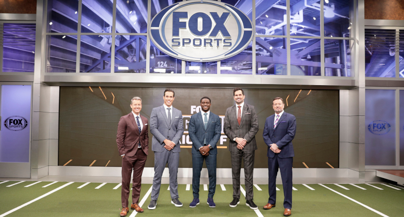Fox CFB show Big Noon Kickoff's cast for 2021.