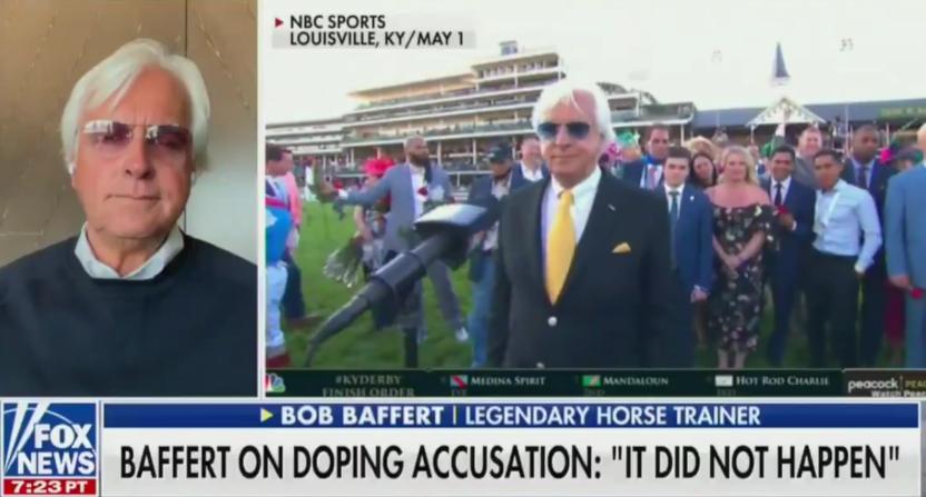Bob Baffert on Fox News.