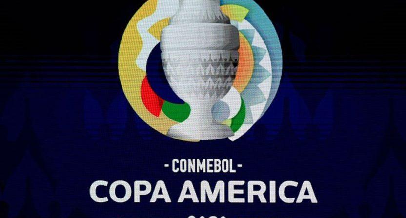 The Copa America logo.